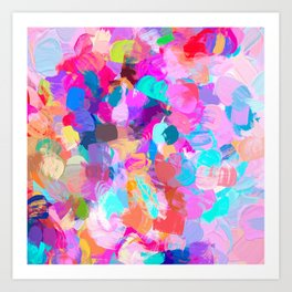 Candy Shop #painting Art Print