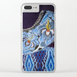 Guatemala - Hiupil of Flowers Clear iPhone Case