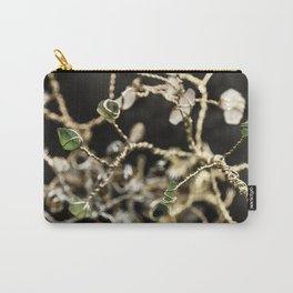 Entangled Glass Carry-All Pouch