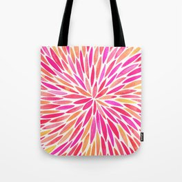 Watercolor Burst – Pink Ombré Tote Bag