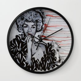 Seven Year Itch Wall Clock