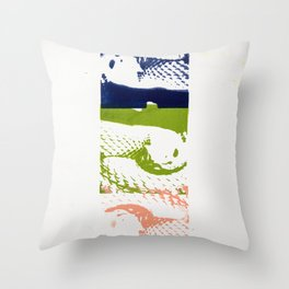 Devil Snake Throw Pillow