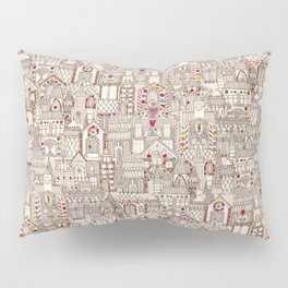 gingerbread town Pillow Sham