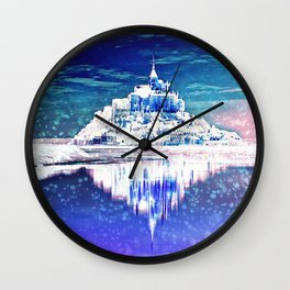 Frozen Palace Wall Clock
