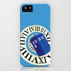 TARDIS in Time Slim Case iPhone SE