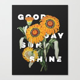 Good Day Sunshine Canvas Print
