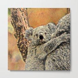 SmartMix Animal - Koala Baby Metal Print