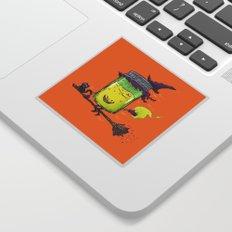 The Witch Jam Sticker