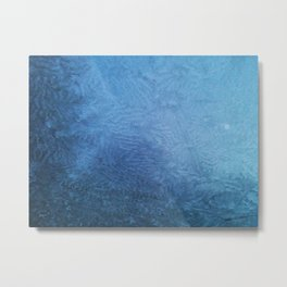 Frosted Windshield Metal Print