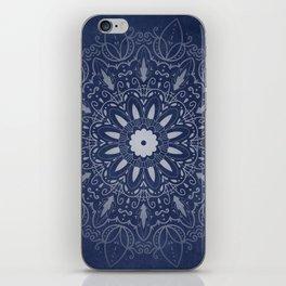 Indigo Mystique Mandala iPhone Skin