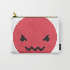 Emojis: Angry Carry-All Pouch