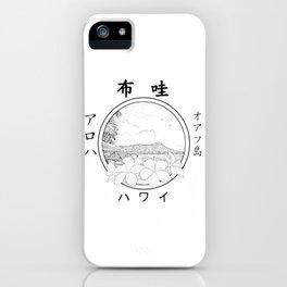 Hawaii Seal in Kanji, old style iPhone Case