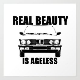 Real Beauty Is Ageless Art Print