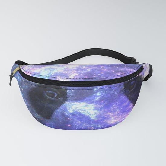 Galaxy Panda Space Colorful by lemoboy