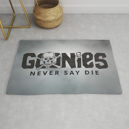 Goonies Never Say Die Rug