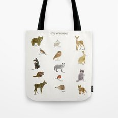 little nature friends Tote Bag