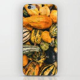 Autumn Farm Feast (Color) iPhone Skin