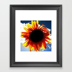 FLOWER 033 Framed Art Print