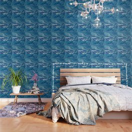 Bahama Blues Wallpaper