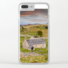 St Celynnin Church Wales Clear iPhone Case