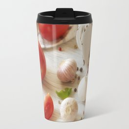 Fresh herbs and Spice for kitchen Travel Mug