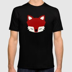 That Sly Fox  Mens Fitted Tee Black SMALL