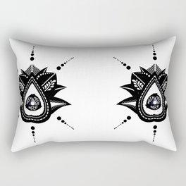 Mehindi Five Rectangular Pillow