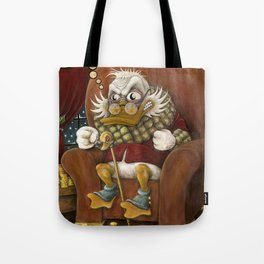 Angry Duck Tote Bag