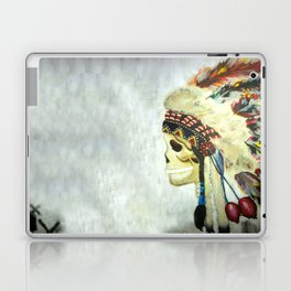 INDIAN WITH HEAD DRESS Laptop & iPad Skin