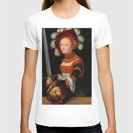 "Lucas Cranach the Elder ""Judith with the Head of Holofernes"" 3. T-shirt"