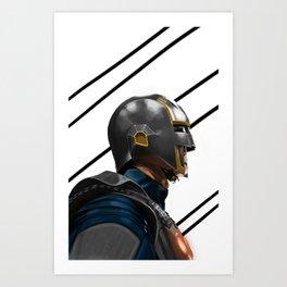 Nova Corps Art Print