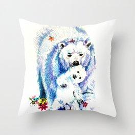 Mama Bear Lovin Throw Pillow