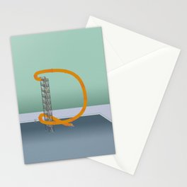 Down we go Stationery Cards