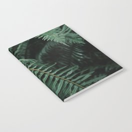 Forest Ferns Notebook