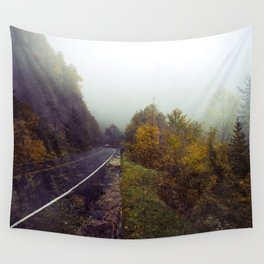 An Accidental Collision of Two Memories at Once Wall Tapestry