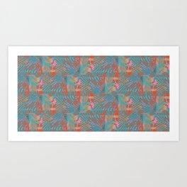 Coral Tides Art Print