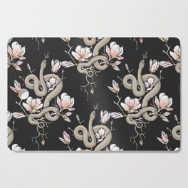Magnolia and Serpent Cutting Board