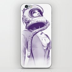 Space Woman iPhone & iPod Skin