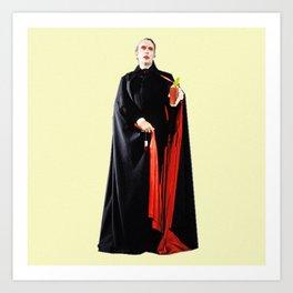 Dracula's Tampons Art Print