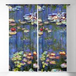 Claude Monet Water Lilies III Blackout Curtain