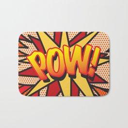 Comic Book POW! Bath Mat