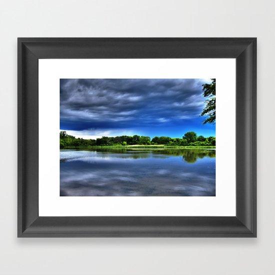 Rock Cut State Park - HDR Framed Art Print