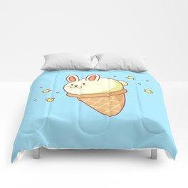 Bunny-lla Ice Cream Comforters