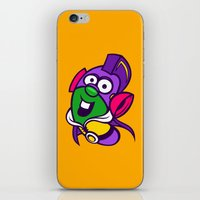 larry iPhone & iPod Skins featuring Larry Boy by Artistic Dyslexia