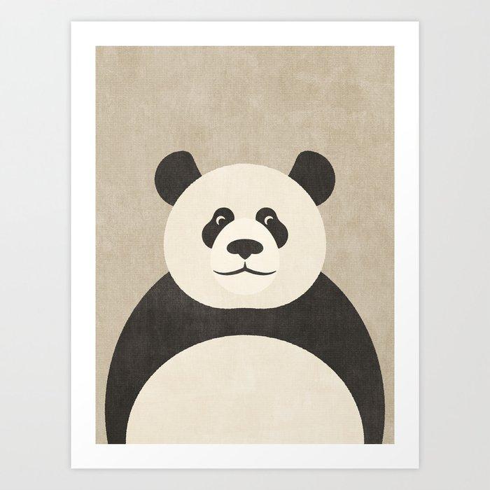 FAUNA / Panda Art Print