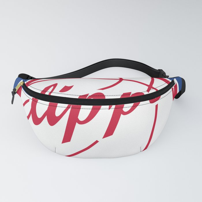 Clippers vintage baskeball logo Fanny Pack