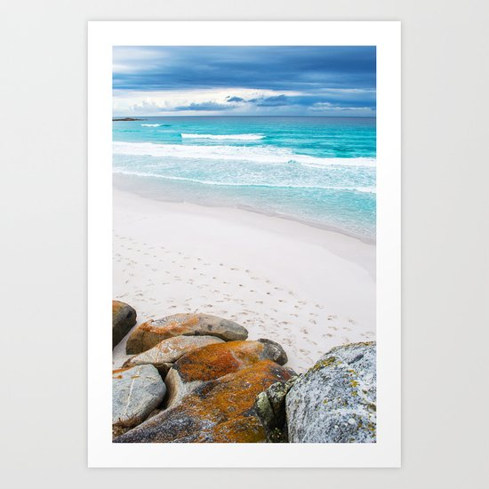 Bay of Fires, Tasmania Art Print