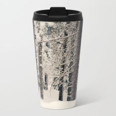 Winter Woods 1 Metal Travel Mug