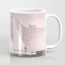 """Sailboat #8"" Art of the Sea by Murray Bolesta Coffee Mug"