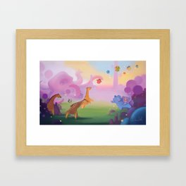 Octo-land Framed Art Print